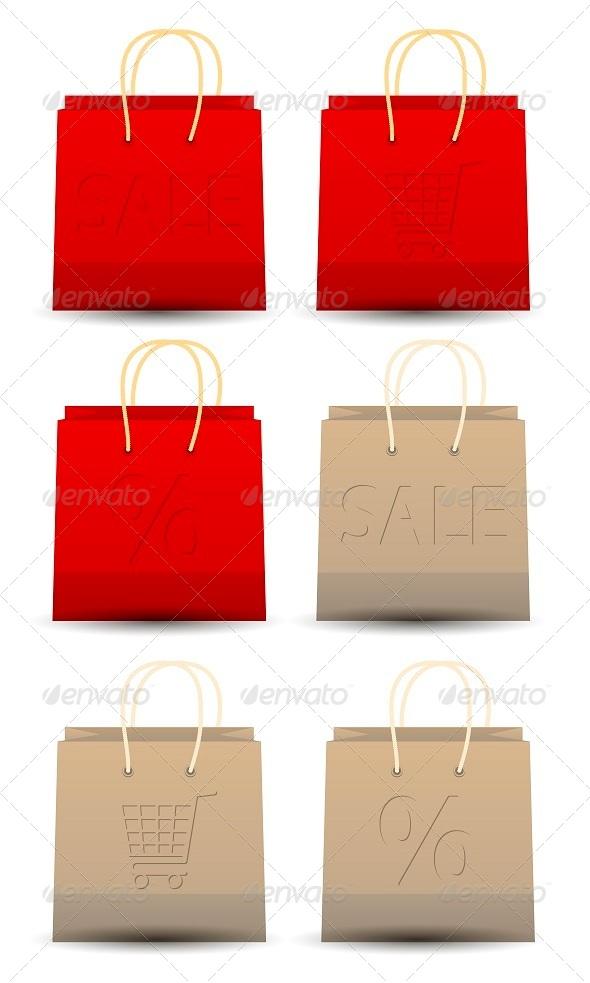 GraphicRiver Shopping Bag Set 5272334