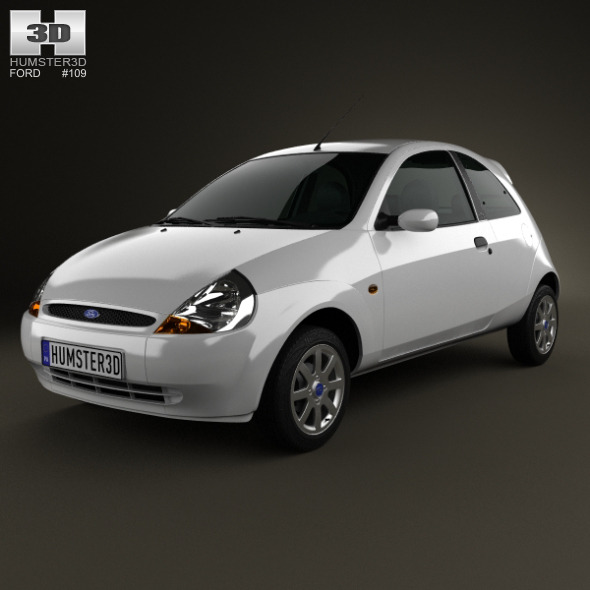 Ford Ka 2003 - 3DOcean Item for Sale