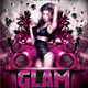 Glam Party Flyer Template - GraphicRiver Item for Sale
