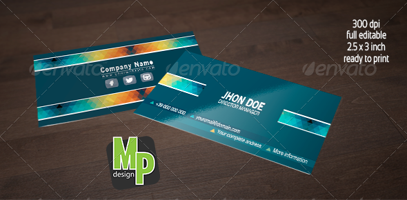GraphicRiver Attractive Business Card 5227902