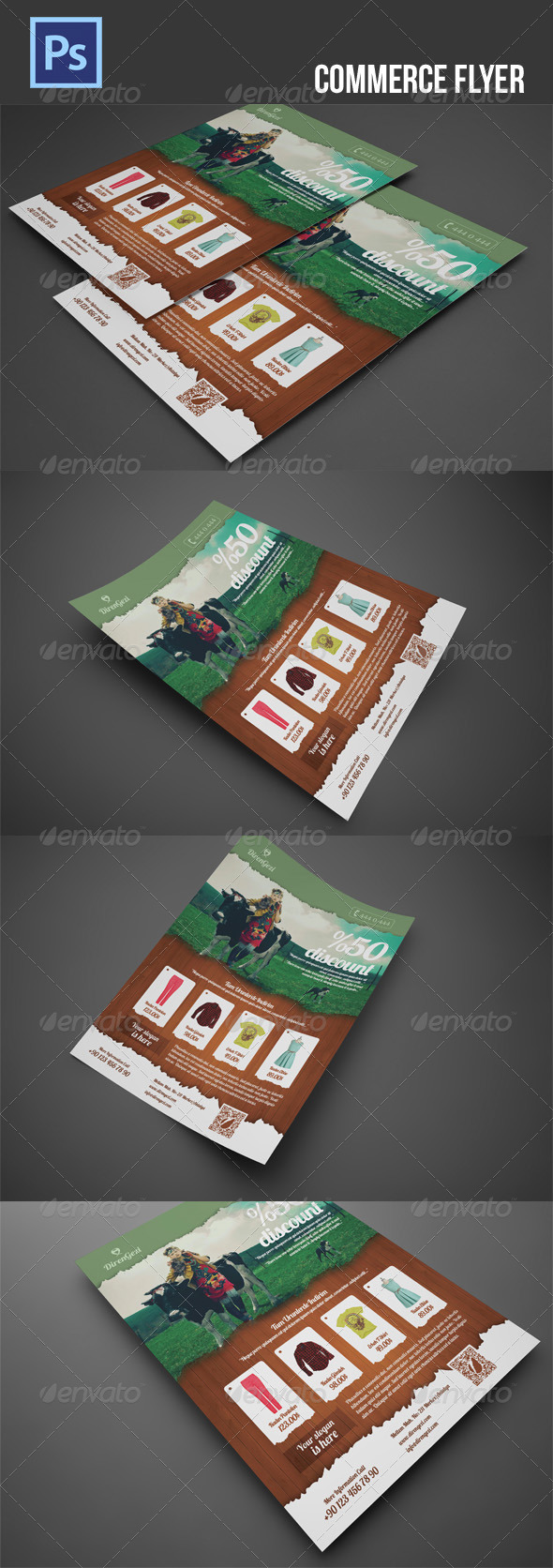 GraphicRiver Commerce Flyer 5274560