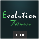 Evolution Fitness – Responsive HTML5 Theme