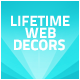 Lifetime Web Decors Badge Sticker tag Ribbon label - GraphicRiver Item for Sale