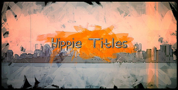Retro Hippie Titles