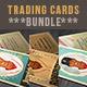 Retro Trading Cards Bundle - GraphicRiver Item for Sale