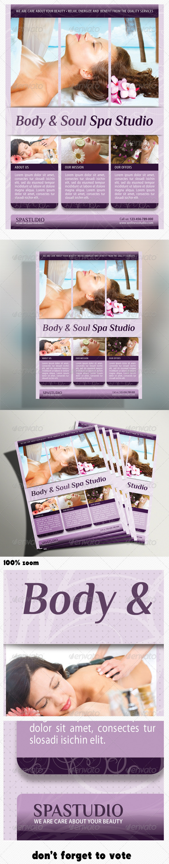 GraphicRiver Spa Studio Flyer 04 5228160