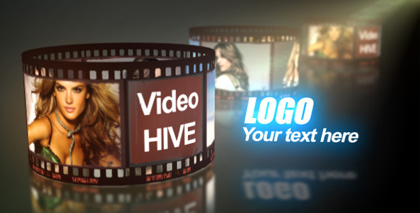 After Effects Project - VideoHive 3D Filmstrip 542476
