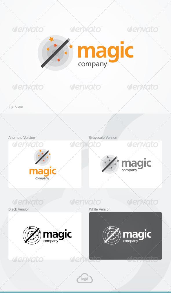 GraphicRiver Magic Company Logo Template 5279053