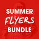 Summer Flyer Bundle - Volume Two - GraphicRiver Item for Sale