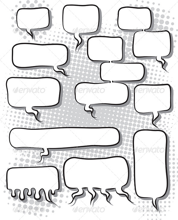 GraphicRiver Speech Bubbles 5279405