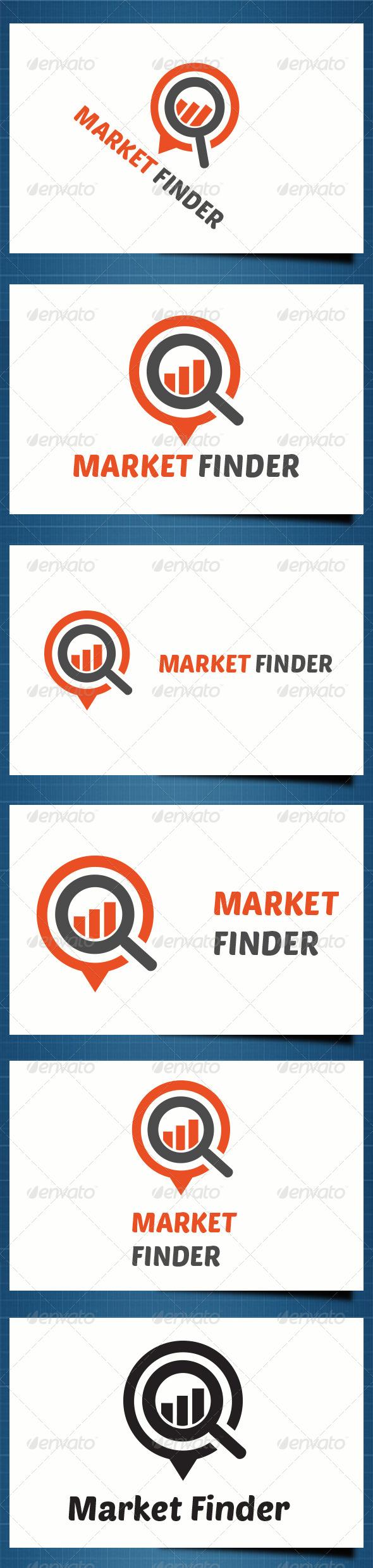GraphicRiver Market Finder Logo 5266778