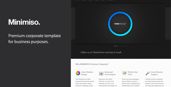 Minimiso - Premium Business Template