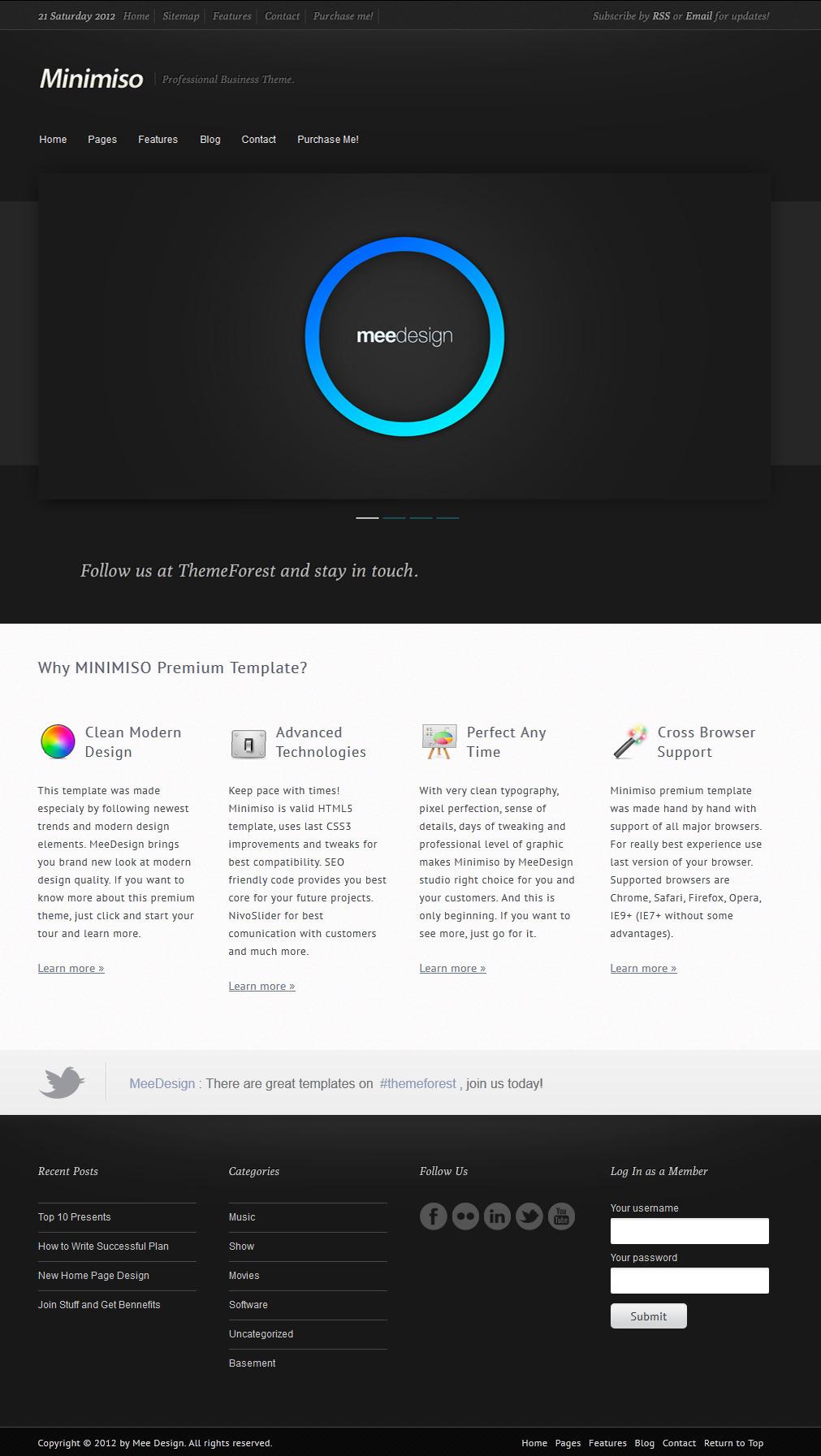 Minimiso - Premium Business Template