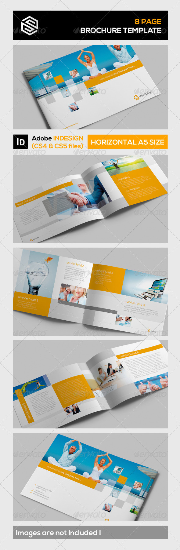 GraphicRiver Brochure Template 5280365