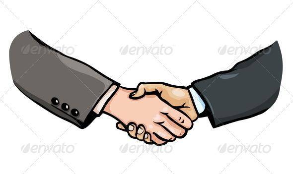GraphicRiver Business Handshake 5280428