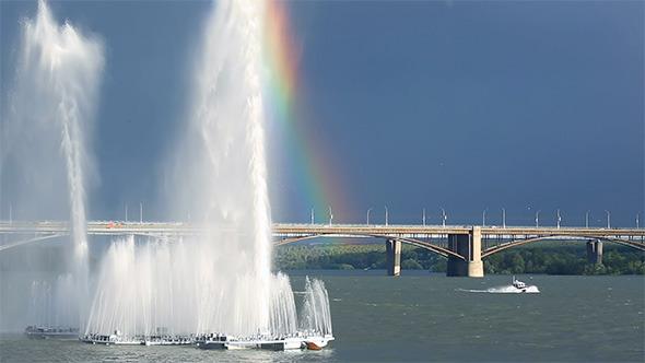 River Fountain