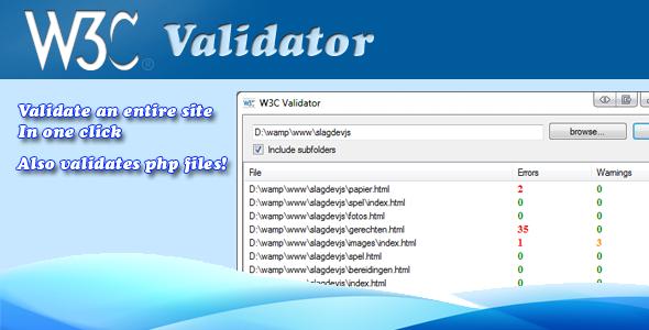 CodeCanyon w3c site validator 528381