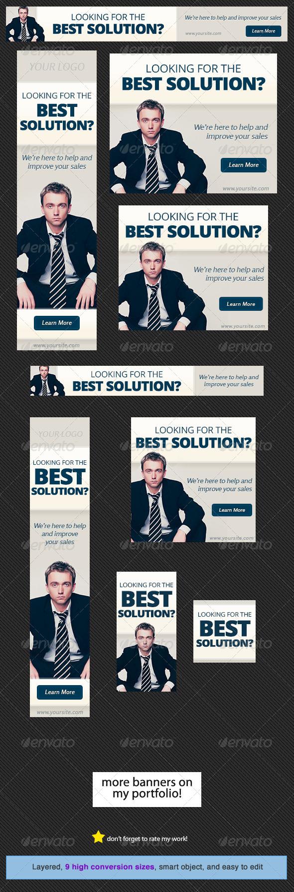 GraphicRiver Corporate Web Banner Design Template 19 5280706