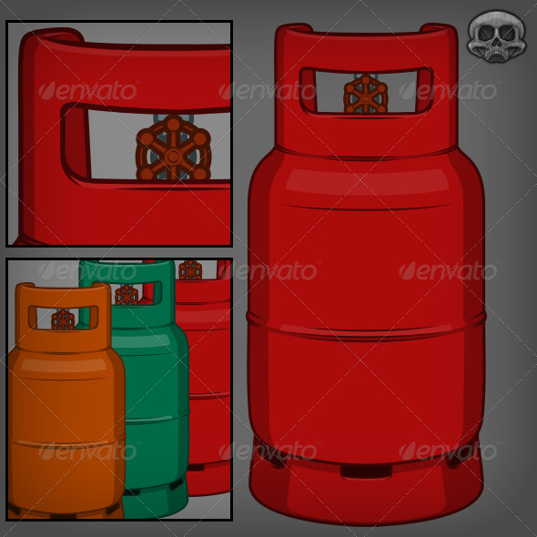 GraphicRiver Gas Canisters 5280724