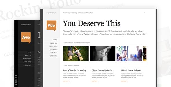 Design Avenue WordPress Portfolio