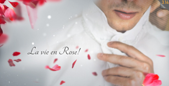 La Vie en Rose Wedding template