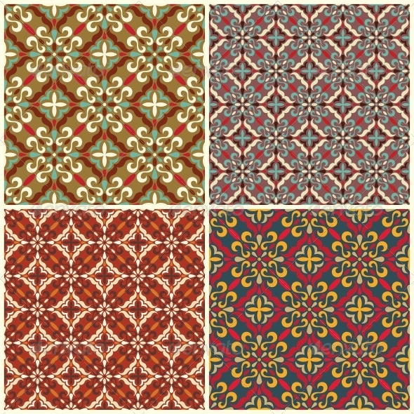GraphicRiver Traditional Seamless Pattern 5281521