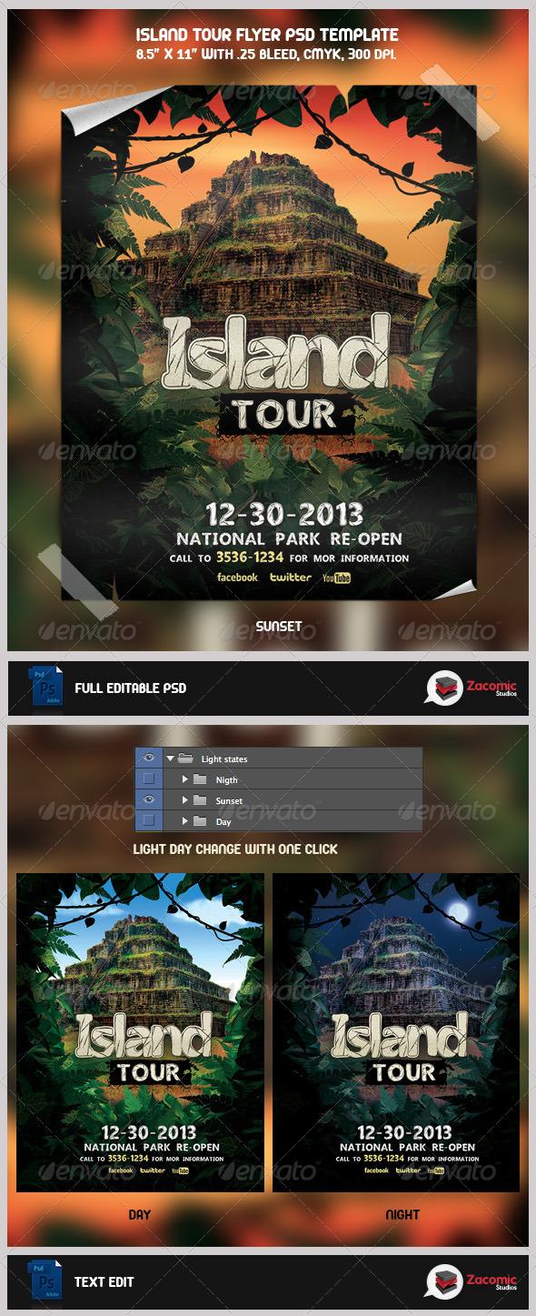 GraphicRiver Island Tour 5281832