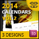 Calendars Vol 2 - GraphicRiver Item for Sale