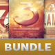 Church Marketing Flyer Bundle Vol 040 - GraphicRiver Item for Sale