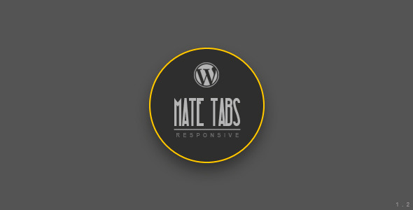 Mate Tabs it is a responsive tabs and accordion.