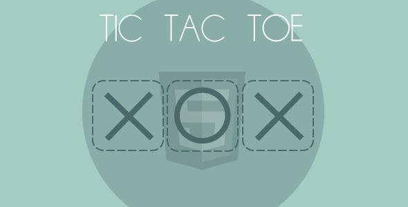CodeCanyon HTML5 Tic Tac Toe 5282880