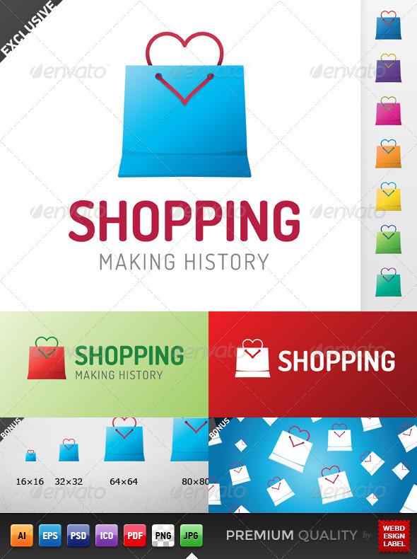 GraphicRiver Shopping Logo 5283162