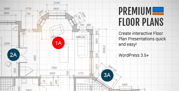 CodeCanyon Premium Floor Plans 5268730