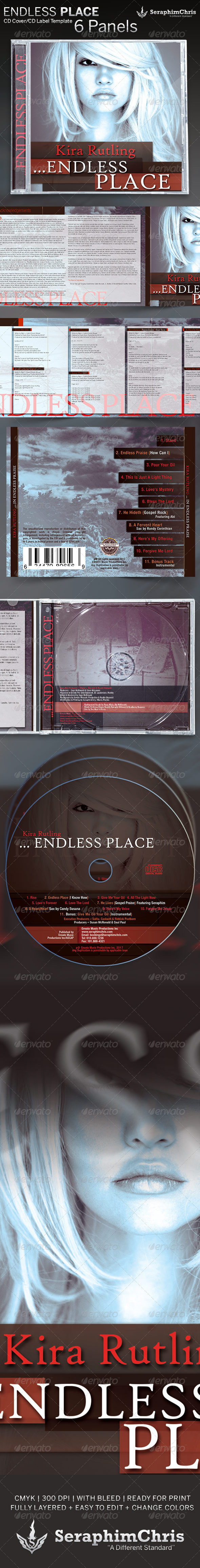 GraphicRiver Endless Place CD Artwork Package Template 5283627