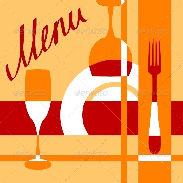 GraphicRiver Bar or Cafe Menu Cover Background 5283847