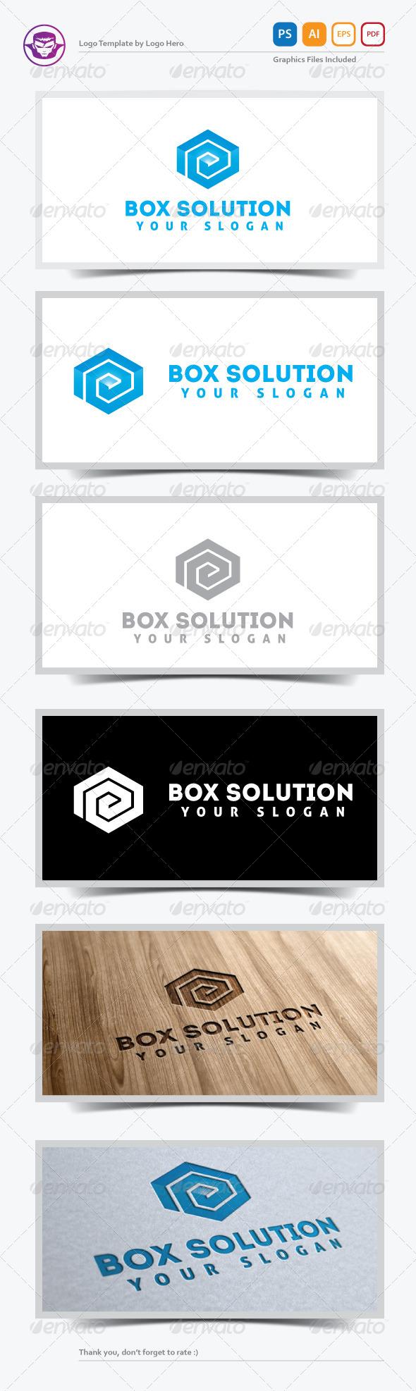 GraphicRiver Box Solution Logo Template 5284211