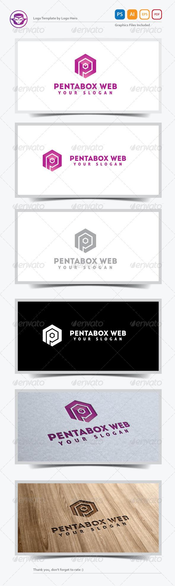 GraphicRiver Pentabox Web Logo Template 5284249