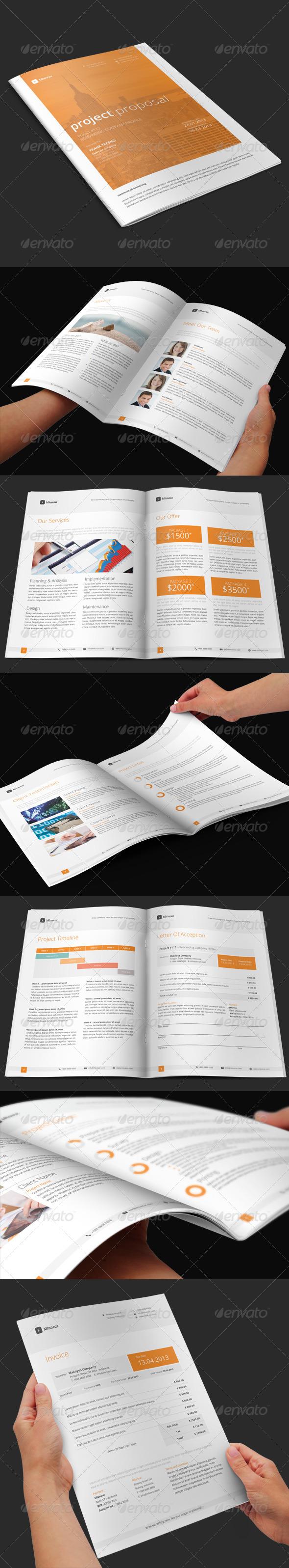 GraphicRiver Mluncur Proposal 5284888