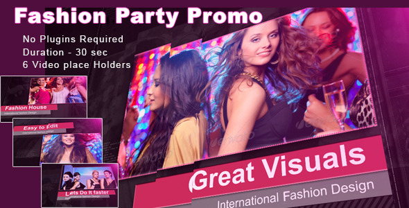 Fashion Dance Promo After Effects Template Videohive 5237649 After Effects Project Files