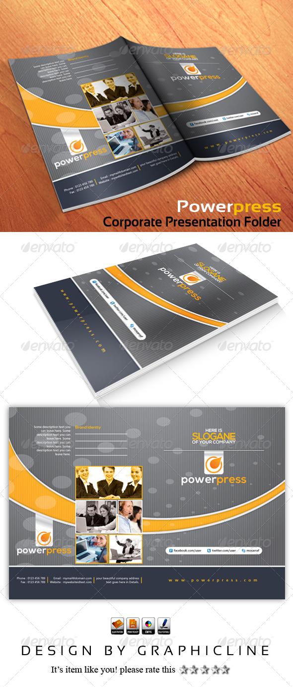 Powerpress Corporate Presentation Folder