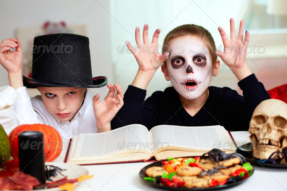 Halloween sorcery - Stock Photo - Images