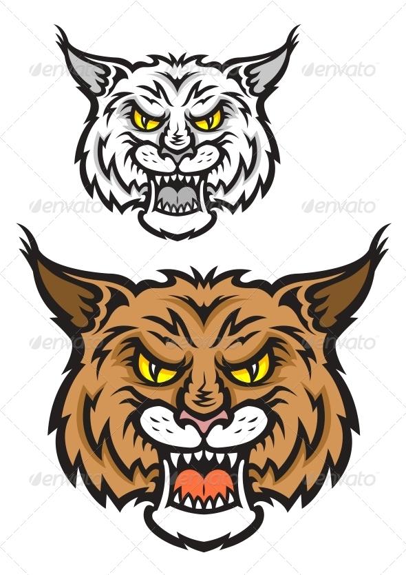 GraphicRiver Lynx Mascot 5285433