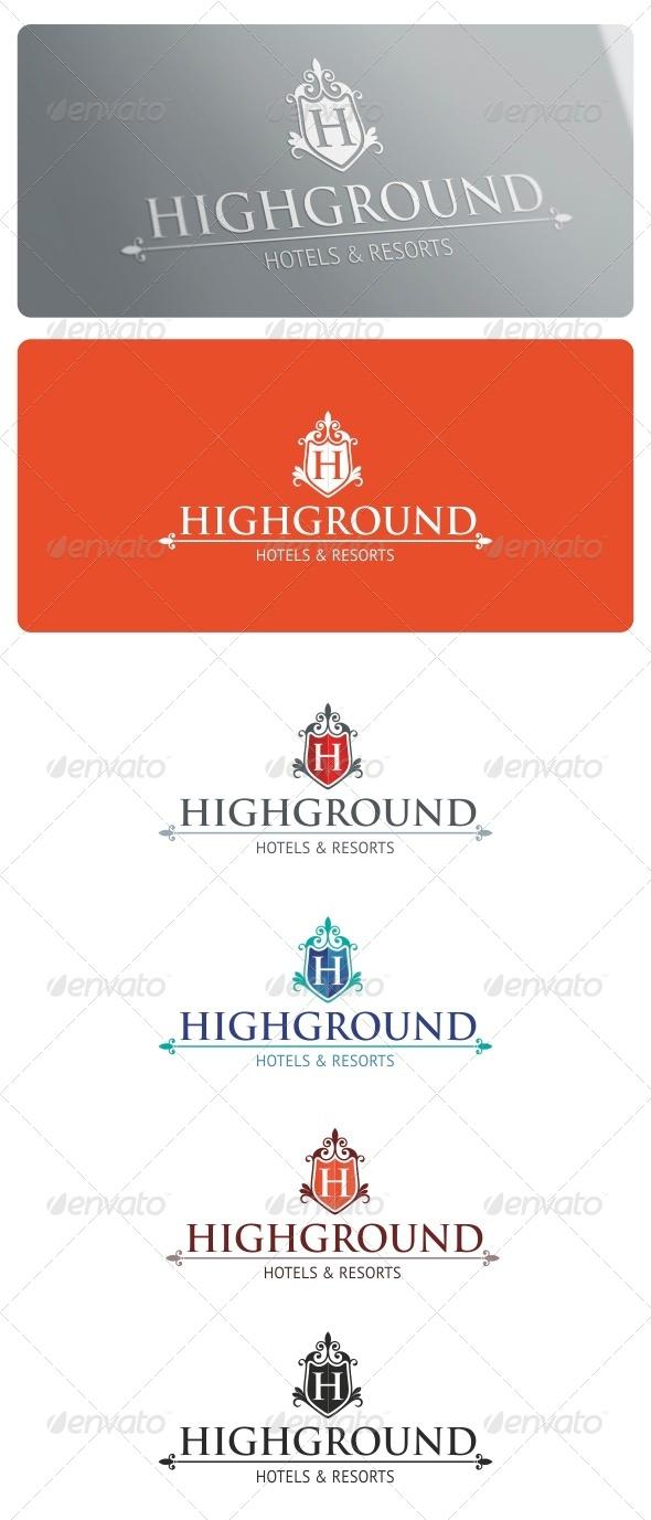 GraphicRiver Highground Logo Template 5285513