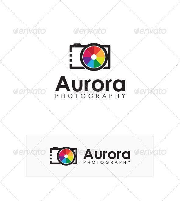 GraphicRiver Aurora Photography Logo Design 5285867