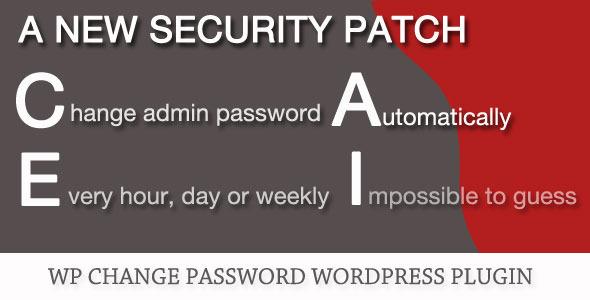 CodeCanyon WP Change Password Plugin 5285922