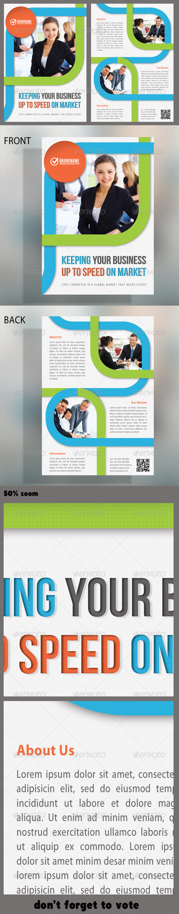 Corporate Product Flyer 13 - Print Templates