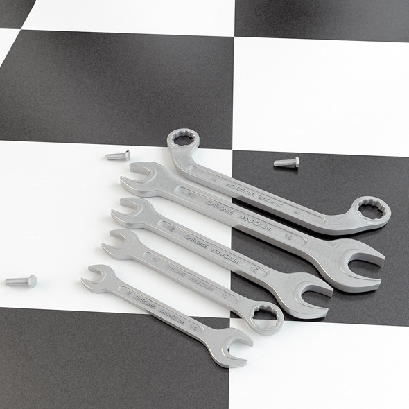 3DOcean Wrenches 5286109