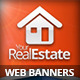 Real Estate Campaign Web Banners 2 - GraphicRiver Item for Sale