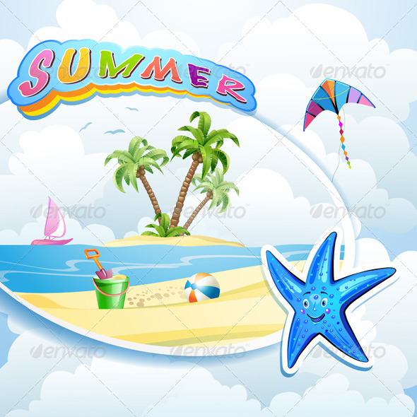 GraphicRiver Summer Beach 5286136