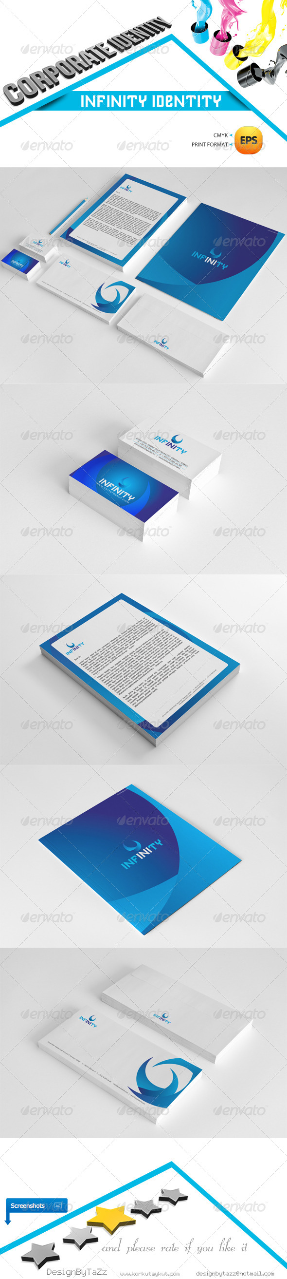 GraphicRiver Infinity Corporate Identity Package 5286217